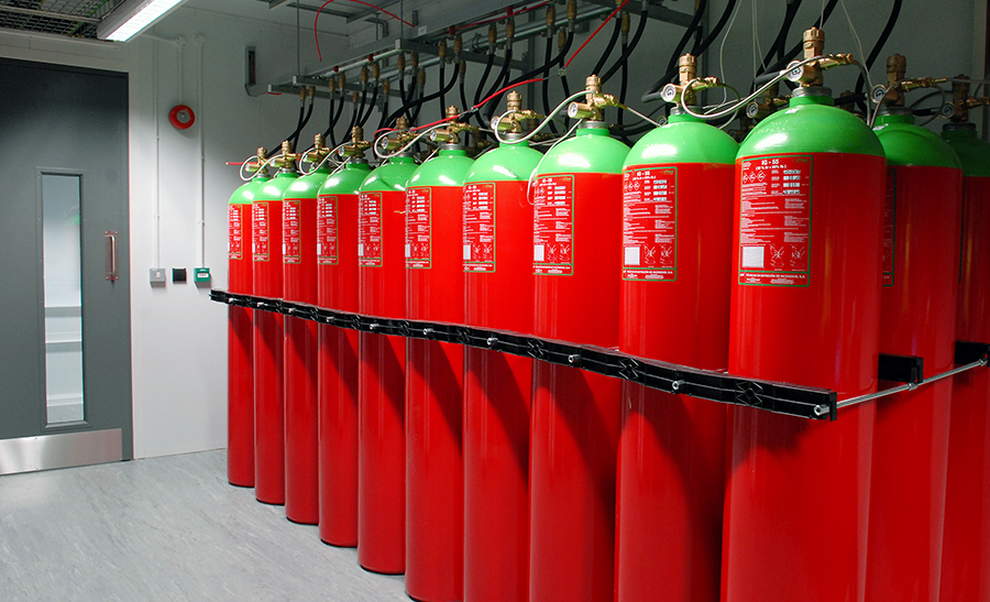 Fire protection systems suppression